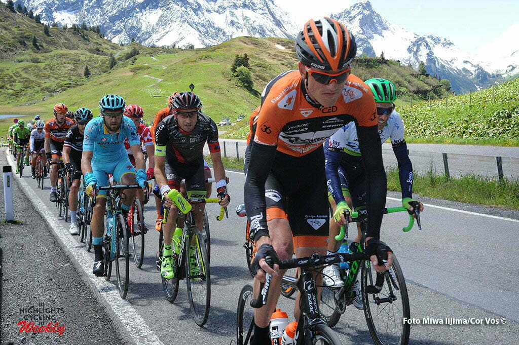 Solden - Austria - wielrennen - cycling - radsport - cyclisme - Pieter Weening (Netherlands / Roompot - Oranje Peloton) pictured during stage 7 of the Tour de Suisse 2016 from Arbon to Solden (224.3 km) - photo Miwa IIjima/Cor Vos © 2016