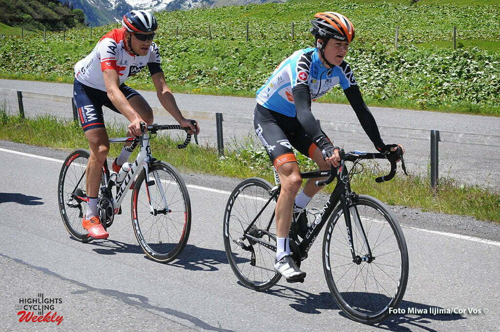 Solden - Austria - wielrennen - cycling - radsport - cyclisme - Antwan Tolhoek (Netherlands / Roompot - Oranje Peloton) pictured during stage 7 of the Tour de Suisse 2016 from Arbon to Solden (224.3 km) - photo Miwa IIjima/Cor Vos © 2016