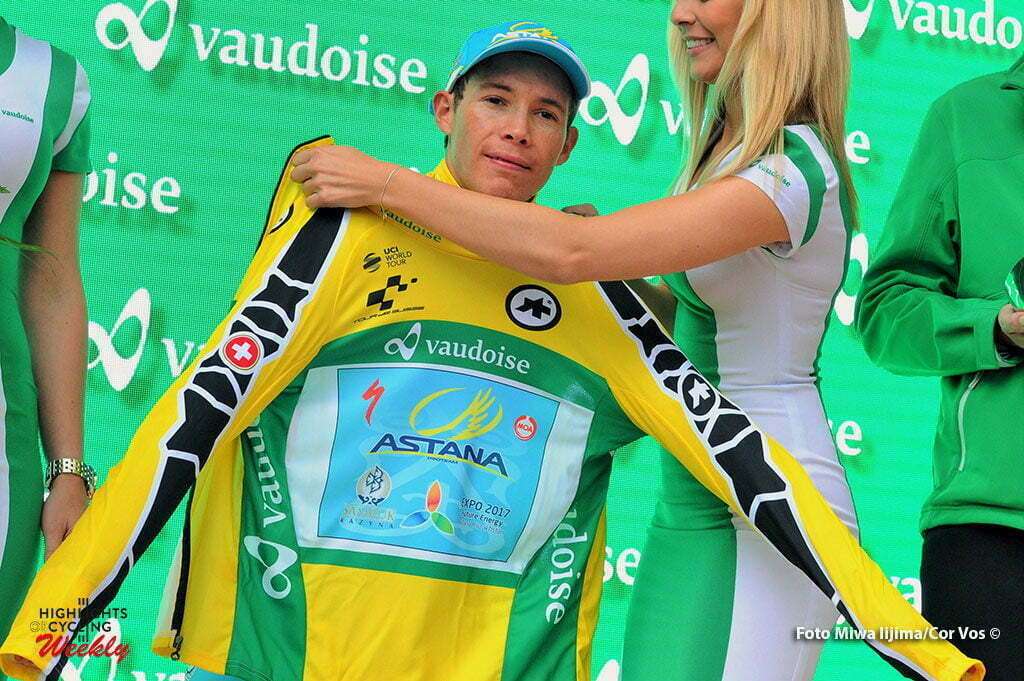 Davos - Switserland - wielrennen - cycling - radsport - cyclisme - Lopez Moreno Miguel Angel (Spain / Team Astana) pictured during stage 8 of the Tour de Suisse 2016 from Davos to Davos (16,8 km) ITT - Individual Time Trial - photo Miwa IIjima/Cor Vos © 2016