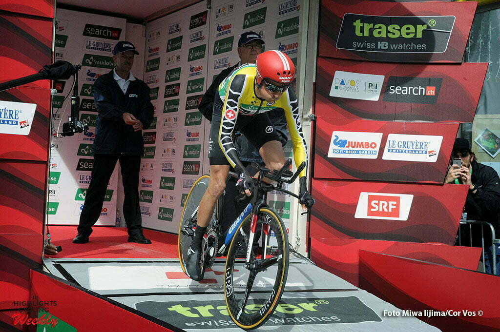 Davos - Switserland - wielrennen - cycling - radsport - cyclisme - Warren Barguil (France / Team Giant - Alpecin) pictured during stage 8 of the Tour de Suisse 2016 from Davos to Davos (16,8 km) ITT - Individual Time Trial - photo Miwa IIjima/Cor Vos © 2016