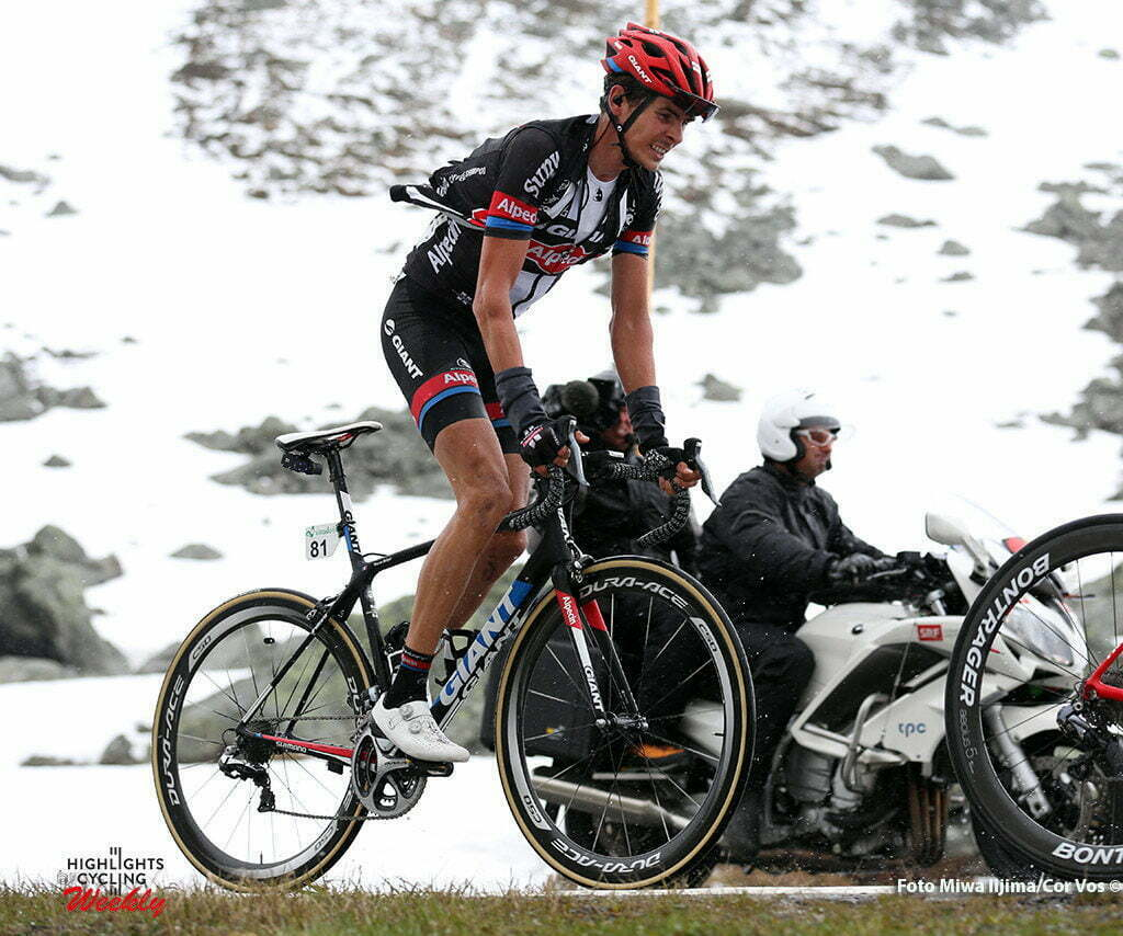 Davos - Switserland - wielrennen - cycling - radsport - cyclisme - Warren Barguil (France / Team Giant - Alpecin) pictured during stage 9 of the Tour de Suisse 2016 from Davos to Davos (117,7 km) - photo Rene Vigneron/Cor Vos © 2016