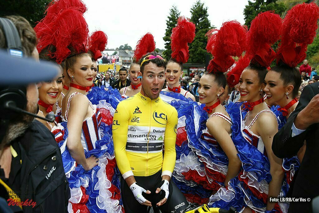 Cherbourg-Octeville - France - wielrennen - cycling - radsport - cyclisme - Mark Cavendish (GBR-Dimension Data) pictured during stage 2 of the 2016 Tour de France from Saint-Lo to Cherbourg-Octeville, 182.00 km - photo Cor Vos © 2016
