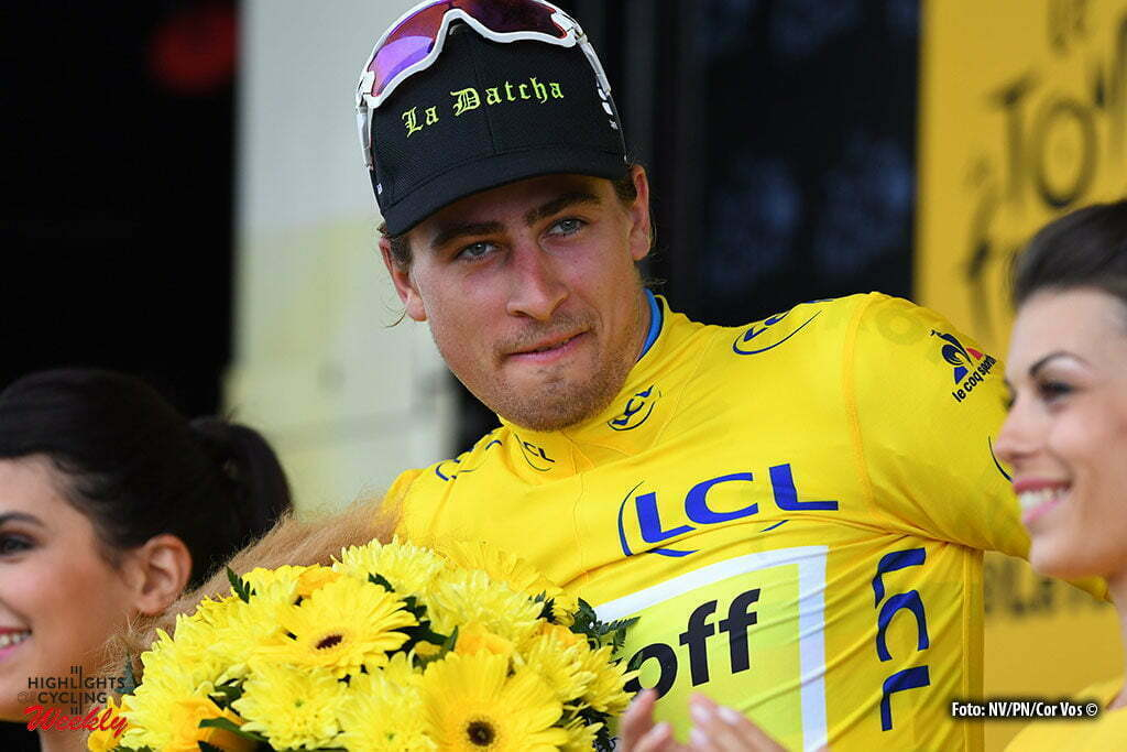 Cherbourg-Octeville - France - wielrennen - cycling - radsport - cyclisme - Peter Sagan (SLK-Tinkoff)) pictured during stage 2 of the 2016 Tour de France from Saint-Lo to Cherbourg-Octeville, 182.00 km - photo NV/PN/Cor Vos © 2016