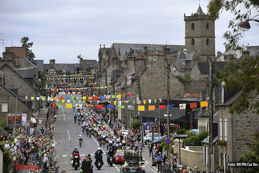 Angers - France - wielrennen - cycling - radsport - cyclisme - illustratie - illustratie - sfeer pictured during stage 3 of the 2016 Tour de France from Granville to Angers, 222.00 km - photo NV/PN/Cor Vos © 2016