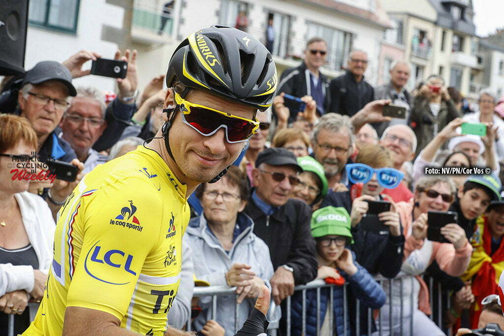 Angers - France - wielrennen - cycling - radsport - cyclisme - Peter Sagan (Tinkoff) pictured during stage 3 of the 2016 Tour de France from Granville to Angers, 222.00 km - photo LB/RB/Cor Vos © 2016
