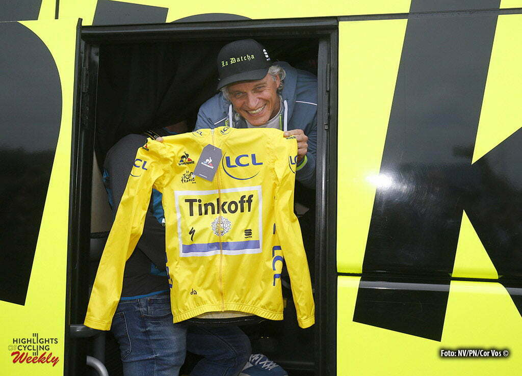 Angers - France - wielrennen - cycling - radsport - cyclisme - Oleg Tinkov (Tinkoff) pictured during stage 3 of the 2016 Tour de France from Granville to Angers, 222.00 km - photo LB/RB/Cor Vos © 2016
