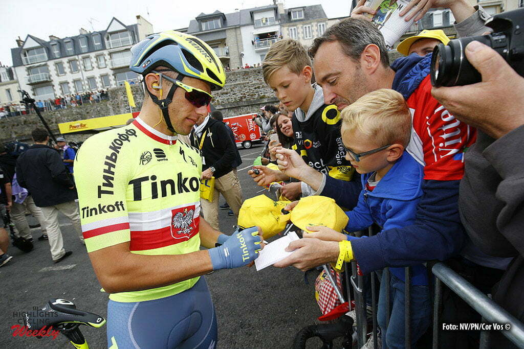 Angers - France - wielrennen - cycling - radsport - cyclisme - Rafal Majka (Tinkoff) pictured during stage 3 of the 2016 Tour de France from Granville to Angers, 222.00 km - photo LB/RB/Cor Vos © 2016