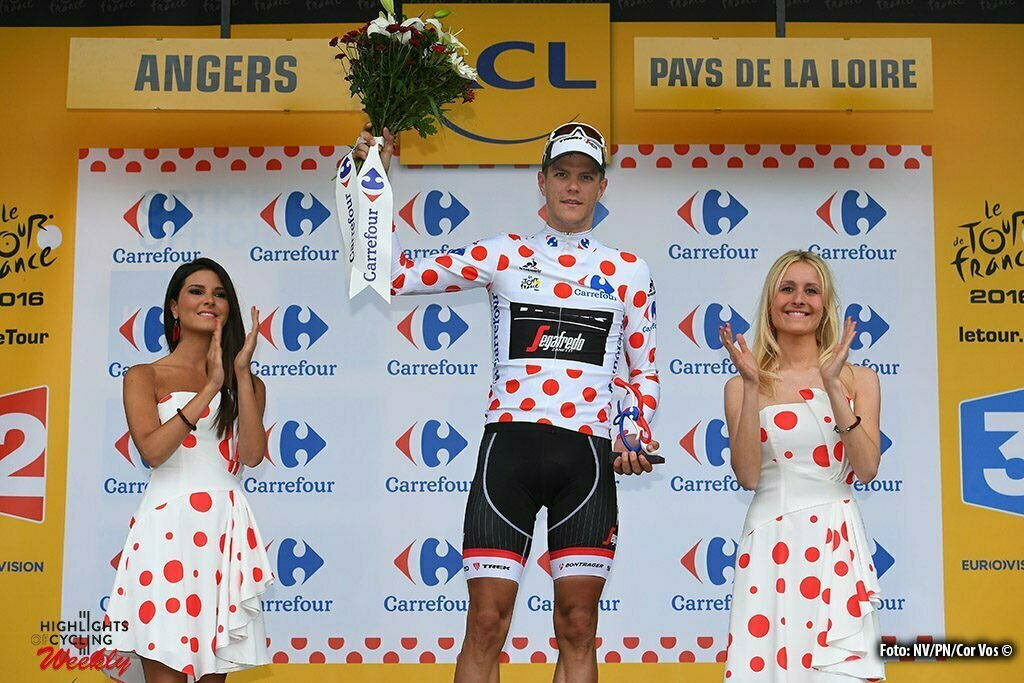 Angers - France - wielrennen - cycling - radsport - cyclisme - Jasper Stuyven (BEL-Trek Segafredo) pictured during stage 3 of the 2016 Tour de France from Granville to Angers, 222.00 km - photo NV/PN/Cor Vos © 2016