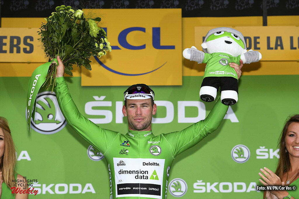Angers - France - wielrennen - cycling - radsport - cyclisme - Mark Cavendish (Dimension Data) pictured during stage 3 of the 2016 Tour de France from Granville to Angers, 222.00 km - photo NV/PN/Cor Vos © 2016