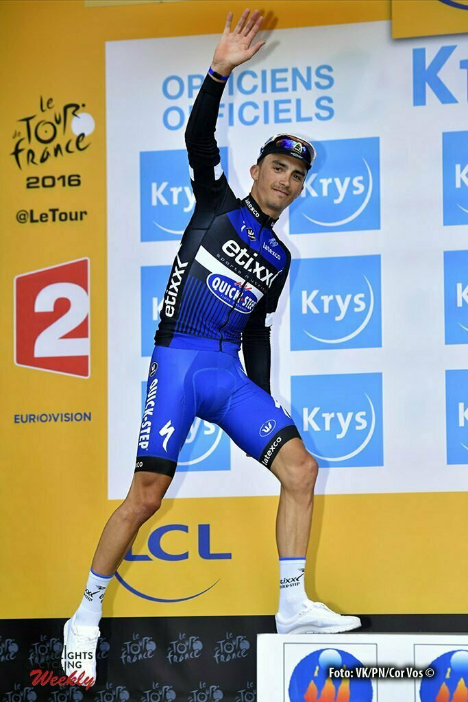Limoges - France - wielrennen - cycling - radsport - cyclisme - Julian Alaphilippe (FRA-Etixx-QuickStep) pictured during stage 4 of the 2016 Tour de France from Saumur to Limoges, 232.00 km - photo NV/PN/Cor Vos © 2016