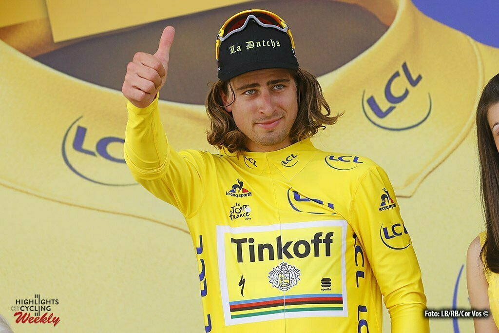 Limoges - France - wielrennen - cycling - radsport - cyclisme - Peter Sagan (SLK-Tinkoff) pictured during stage 4 of the 2016 Tour de France from Saumur to Limoges, 232.00 km - photo LB/RB/Cor Vos © 2016