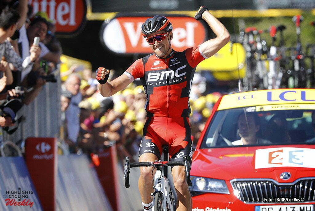 Le Lioran - France - wielrennen - cycling - radsport - cyclisme - Greg Van Avermaet (BMC) pictured during stage 5 of the 2016 Tour de France from Limoges to Le Lioran, 216.00 km - photo LB/RB/Cor Vos © 2016