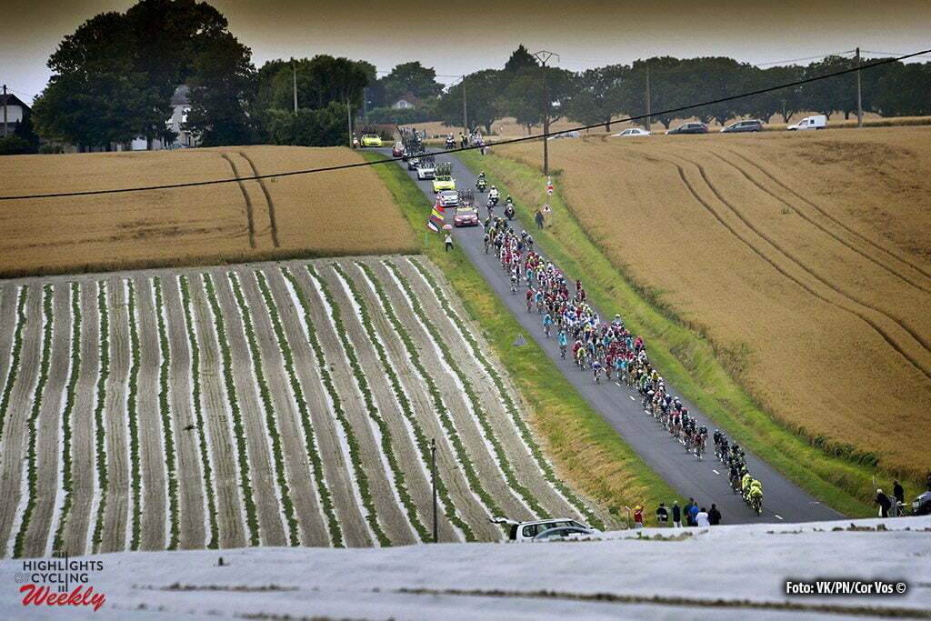 Le Lioran - France - wielrennen - cycling - radsport - cyclisme - illustratie - illustratie - sfeer pictured during stage 5 of the 2016 Tour de France from Limoges to Le Lioran, 216.00 km - photo NV/PN/Cor Vos © 2016