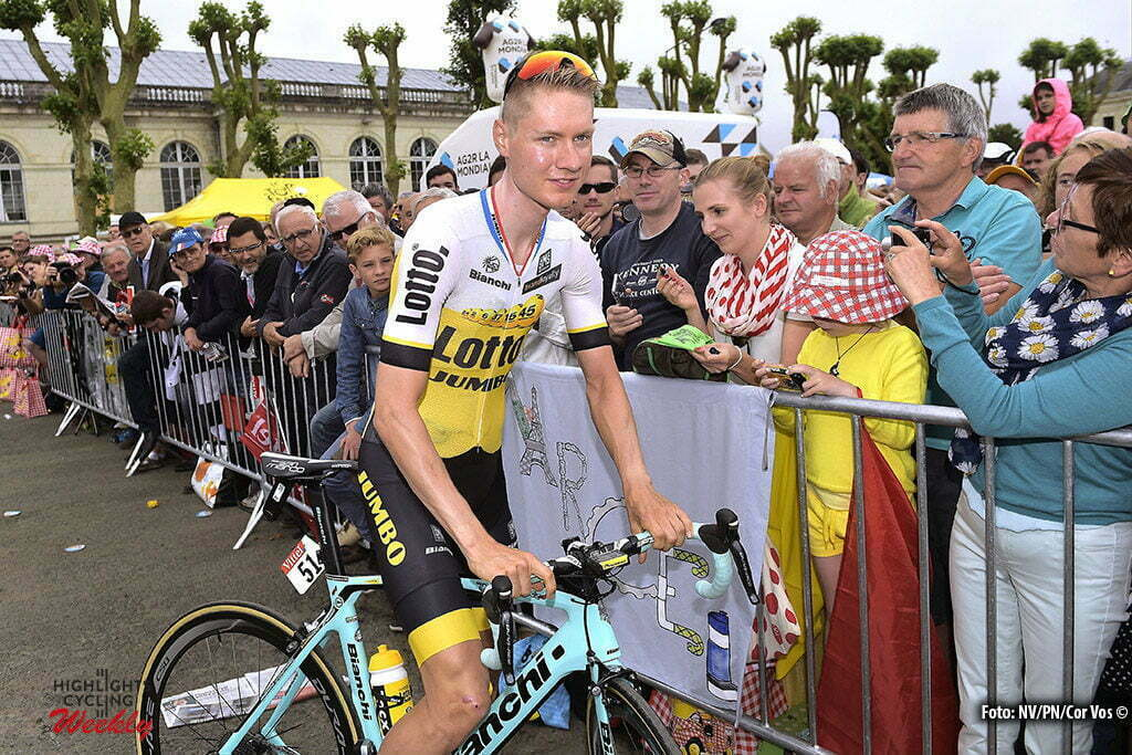 Le Lioran - France - wielrennen - cycling - radsport - cyclisme - Wilco Kelderman (NED-LottoNL-Jumbo) pictured during stage 5 of the 2016 Tour de France from Limoges to Le Lioran, 216.00 km - photo NV/PN/Cor Vos © 2016