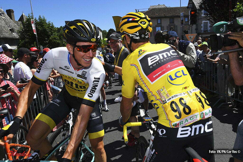 Montauban - France - wielrennen - cycling - radsport - cyclisme - Sep Vanmarcke (BEL-LottoNL-Jumbo) - Greg van Avermaet (BEL-BMC Racing Team) pictured during stage 6 of the 2016 Tour de France from Arpajon-sur-Cère to Montauban, 187.00 km - photo VK/PN/Cor Vos © 2016