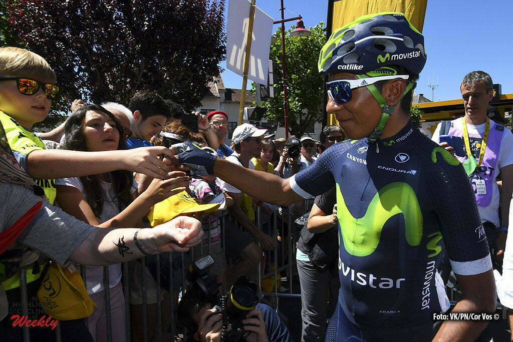 Montauban - France - wielrennen - cycling - radsport - cyclisme - Nairo Quintana (COL-Movistar) pictured during stage 6 of the 2016 Tour de France from Arpajon-sur-Cère to Montauban, 187.00 km - photo VK/PN/Cor Vos © 2016