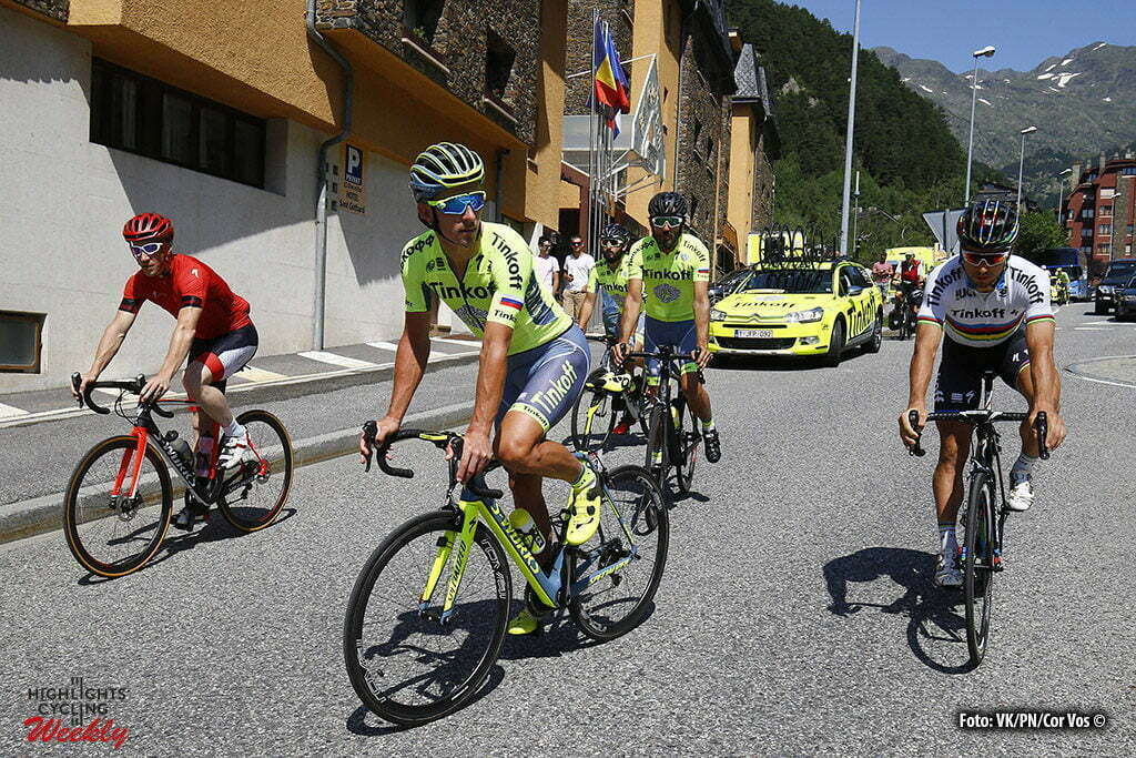 Andorre - France - wielrennen - cycling - radsport - cyclisme - Maciej Bodnar - Peter Sagan (Tinkoff) pictured during the first restday of the 2016 Tour de France in Andorre - photo LB/RB/Cor Vos © 2016