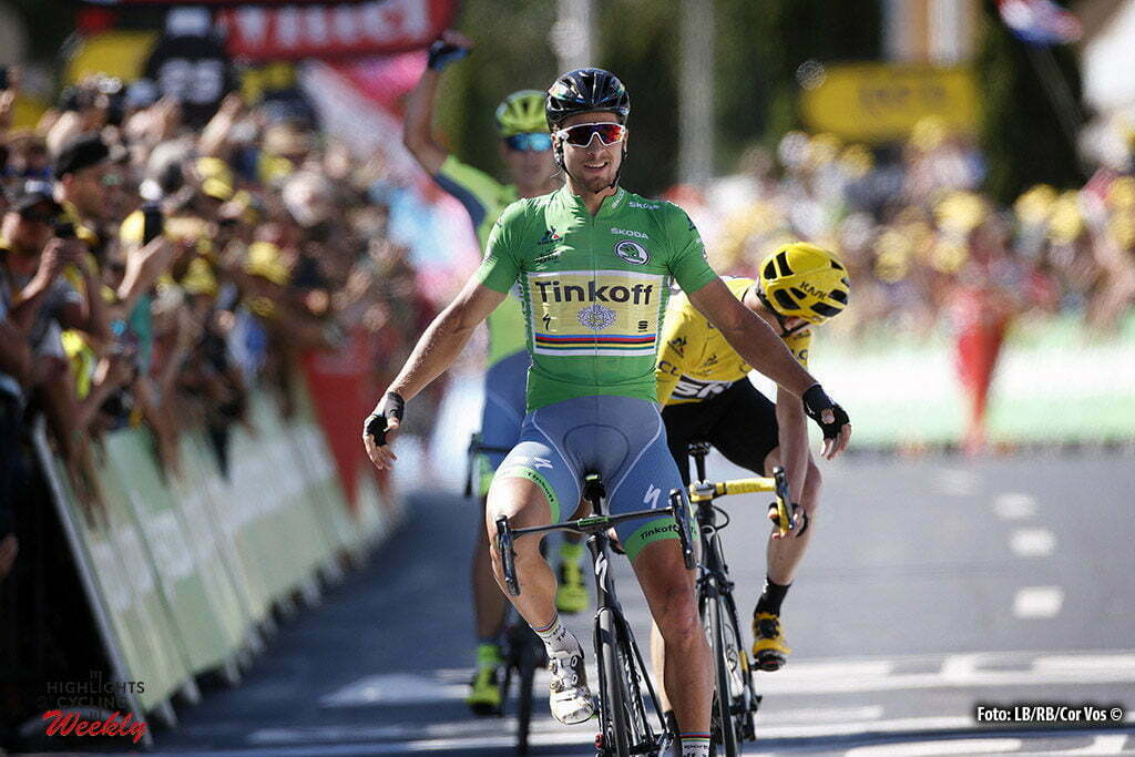 Montpellier - France - wielrennen - cycling - radsport - cyclisme - Peter Sagan (Slowakia / Team Tinkoff - Tinkov) - Christopher - Chris Froome (Norway / Team Sky) pictured during stage 11 of the 2016 Tour de France from Carcassonne to Montpellier, 164.00 km - photo Dion Kerckhoffs/Tim van Wichelen/Cor Vos © 2016
