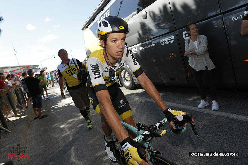 Montpellier - France - wielrennen - cycling - radsport - cyclisme - George Bennet (NZL-LottoNL-Jumbo) pictured during stage 11 of the 2016 Tour de France from Carcassonne to Montpellier, 164.00 km - photo Dion Kerckhoffs/Tim van Wichelen/Cor Vos © 2016
