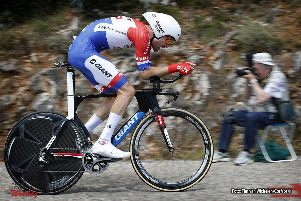 La Caverne du Pont-d'Arc - France - wielrennen - cycling - radsport - cyclisme - Tom Dumoulin (NED-Giant-Alpecin) pictured during stage 13 of the 2016 Tour de France from Bourg-Saint-Andéol - La Caverne du Pont-d'Arc - ITT, Time Trial Individual - 37.00 km- photo Tim van Wichelen/Cor Vos © 2016