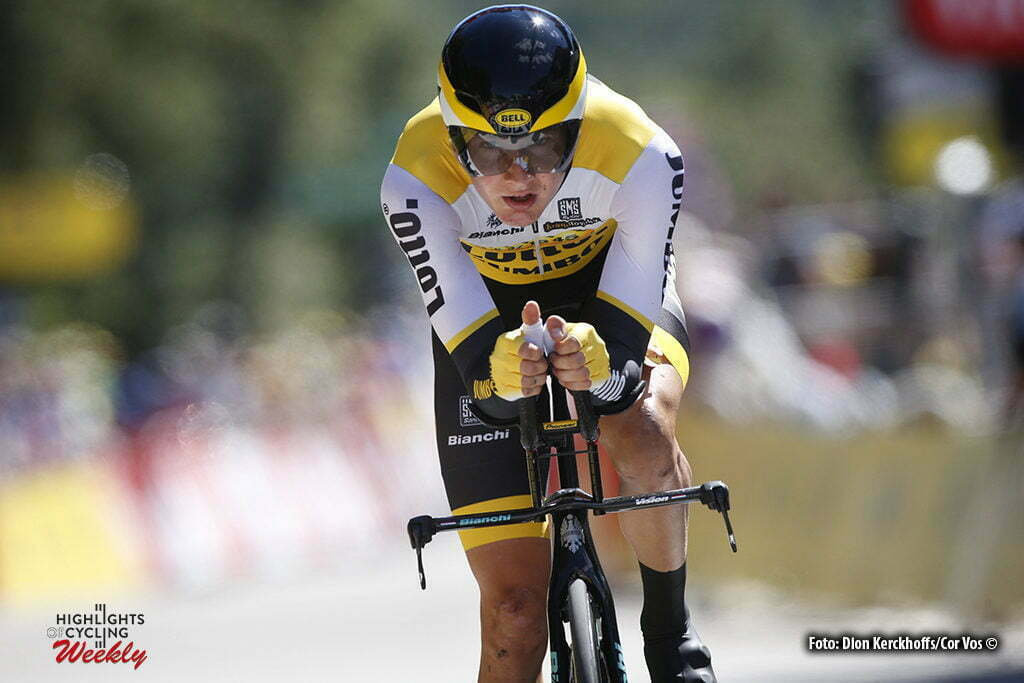 La Caverne du Pont-d'Arc - France - wielrennen - cycling - radsport - cyclisme - Wilco Kelderman (NED-LottoNL-Jumbo) pictured during stage 13 of the 2016 Tour de France from Bourg-Saint-Andéol - La Caverne du Pont-d'Arc - ITT, Time Trial Individual - 37.00 km- photo Dion Kerkhoffs/Cor Vos © 2016