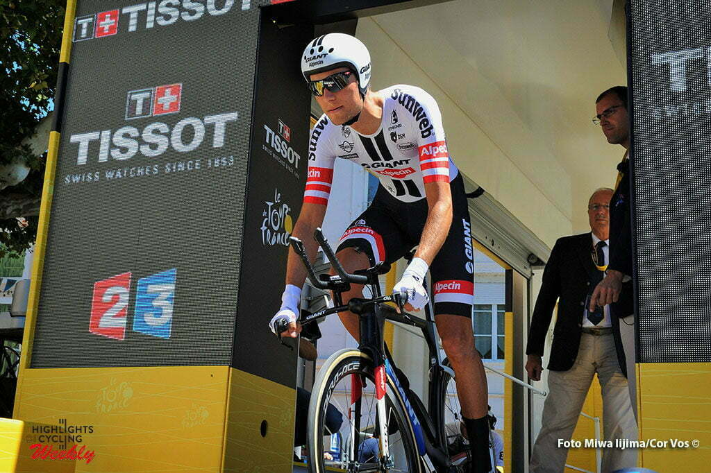 La Caverne du Pont-d'Arc - France - wielrennen - cycling - radsport - cyclisme - Georg Preidler (OOS-Giant-Alpecin) pictured during stage 13 of the 2016 Tour de France from Bourg-Saint-Andéol - La Caverne du Pont-d'Arc - ITT, Time Trial Individual - 37.00 km- photo Miwa iijima/Cor Vos © 2016