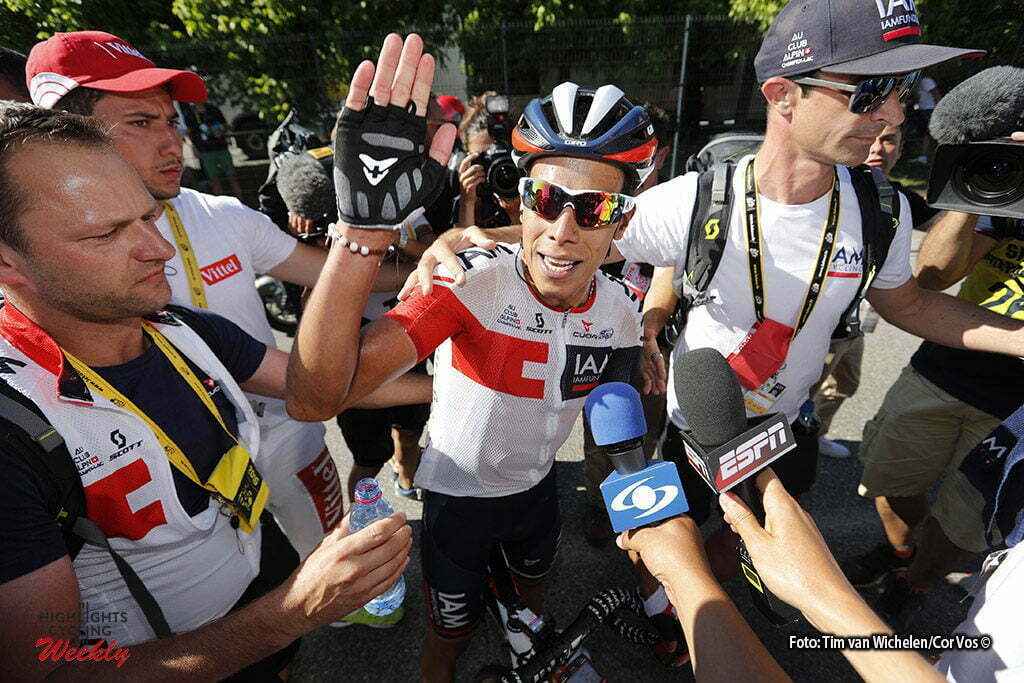 Culoz - France - wielrennen - cycling - radsport - cyclisme - Jarlinson Pantano (COL-IAM Cycling) pictured during stage 15 of the 2016 Tour de France from Bourg-en-Bresse to Culoz, 159.00 km - photo Dion Kerckhoffs/Tim van Wichelen/Cor Vos © 2016