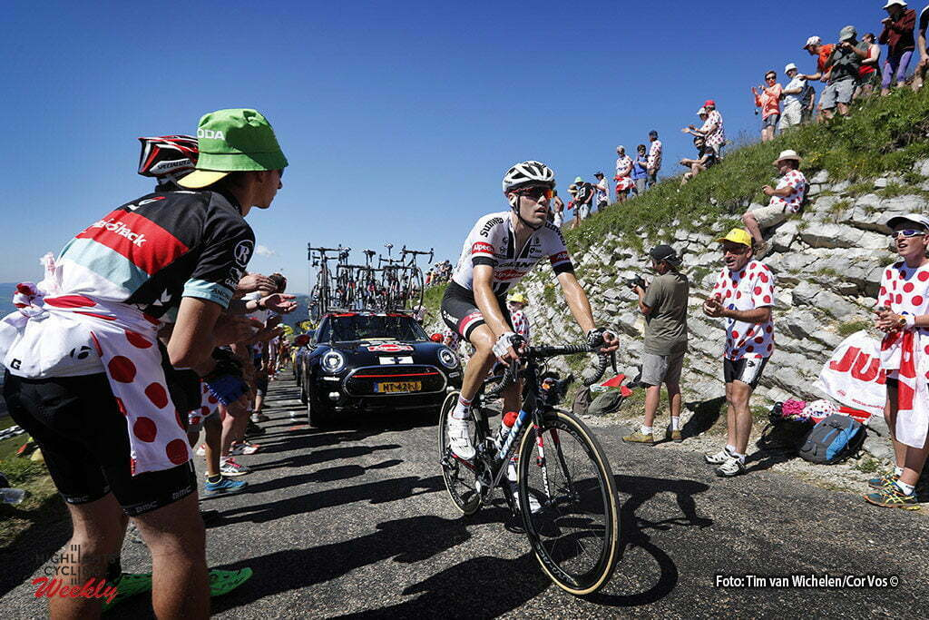 Culoz - France - wielrennen - cycling - radsport - cyclisme - Tom Dumoulin (NED-Giant-Alpecin) pictured during stage 15 of the 2016 Tour de France from Bourg-en-Bresse to Culoz, 159.00 km - photo Dion Kerckhoffs/Tim van Wichelen/Cor Vos © 2016
