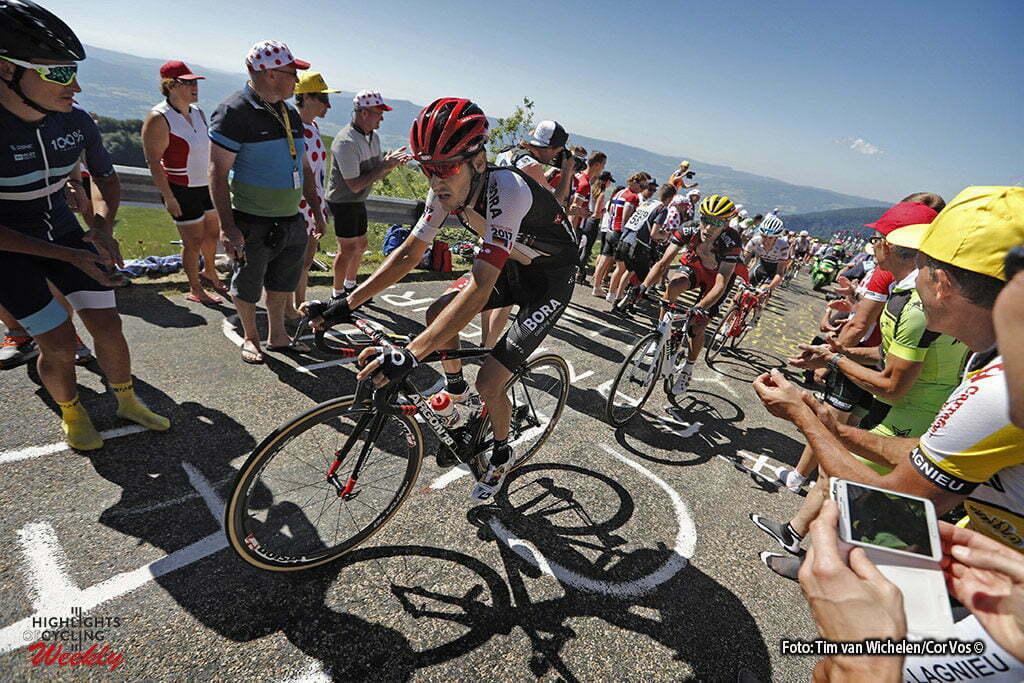 Culoz - France - wielrennen - cycling - radsport - cyclisme - Bartosz Huzarski (POL-Bora-Argon 18) pictured during stage 15 of the 2016 Tour de France from Bourg-en-Bresse to Culoz, 159.00 km - photo Dion Kerckhoffs/Tim van Wichelen/Cor Vos © 2016