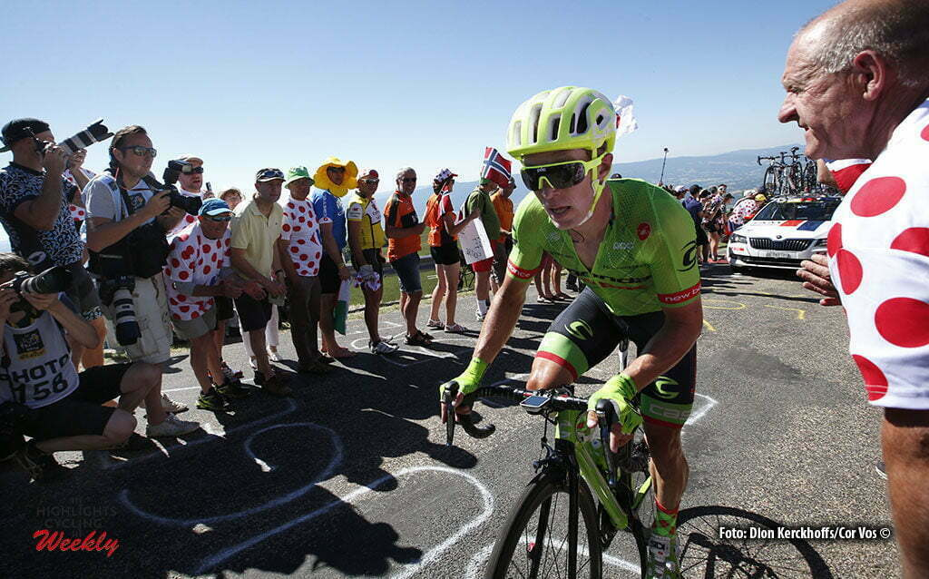 Culoz - France - wielrennen - cycling - radsport - cyclisme - Tom Jelte Slagter (NED-Cannondale) pictured during stage 15 of the 2016 Tour de France from Bourg-en-Bresse to Culoz, 159.00 km - photo Dion Kerckhoffs/Tim van Wichelen/Cor Vos © 2016