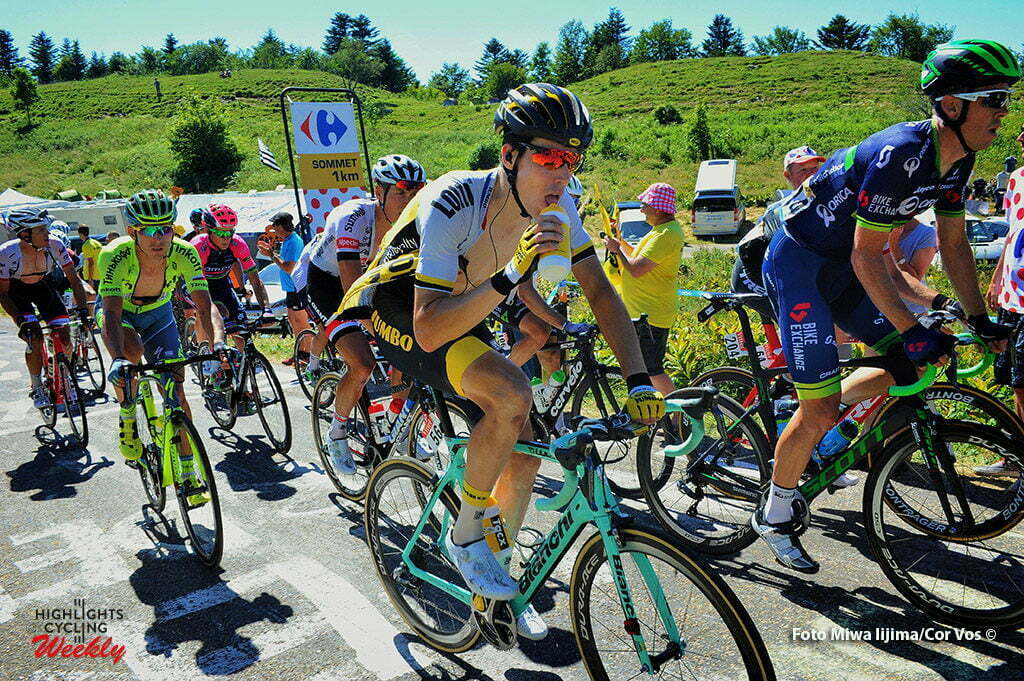 Culoz - France - wielrennen - cycling - radsport - cyclisme - Timo Roosen (NED-LottoNL-Jumbo) pictured during stage 15 of the 2016 Tour de France from Bourg-en-Bresse to Culoz, 159.00 km - photo Miwa iijima/Cor Vos © 2016