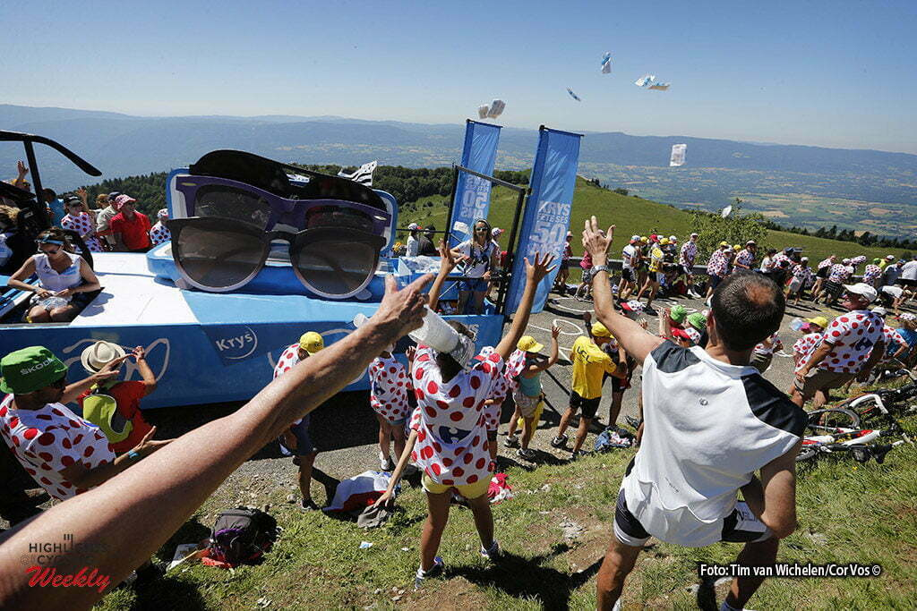 Culoz - France - wielrennen - cycling - radsport - cyclisme - caravane commercial paraba publicitaire reclame karavaan pictured during stage 15 of the 2016 Tour de France from Bourg-en-Bresse to Culoz, 159.00 km - photo Dion Kerckhoffs/Tim van Wichelen/Cor Vos © 2016