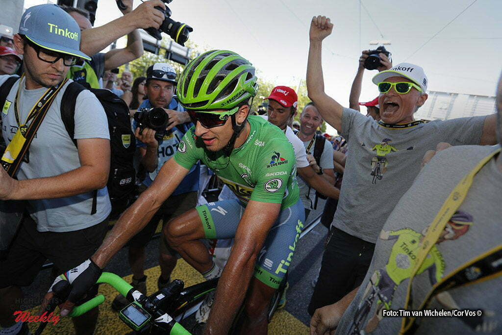 Bern - Suisse - wielrennen - cycling - radsport - cyclisme - Peter Sagan (SLK-Tinkoff) - Oleg Tinkov pictured during stage 16 of the 2016 Tour de France from Moirans-en-Montagne to Bern, Switserland - 206.00 km - photo Dion Kerckhoffs/Tim van Wichelen/Cor Vos © 2016