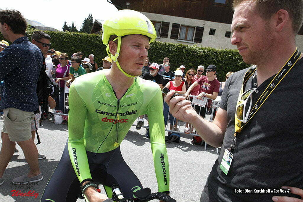 Megeve - France - wielrennen - cycling - radsport - cyclisme - Dylan van Baarle (NED-Cannondale) pictured during stage 18 of the 2016 Tour de France from Sallanches to Megeve ITT, 17.00 km - photo Dion Kerkhoffs//Davy Rietbergen/Cor Vos © 2016