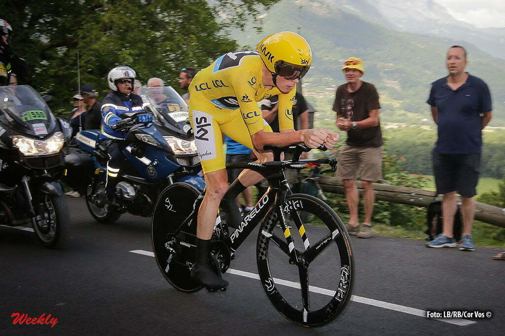 Megeve - France - wielrennen - cycling - radsport - cyclisme - Chris Froome (GBR-Team Sky) pictured during stage 18 of the 2016 Tour de France from Sallanches to Megeve ITT, 17.00 km - photo JdM/PN/Cor Vos © 2016