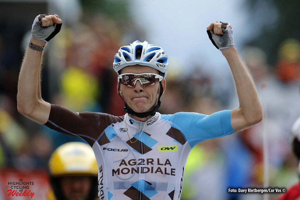 Saint-Gervais - France - wielrennen - cycling - radsport - cyclisme - Romain Bardet (FRA-AG2R-La Mondiale) pictured during stage 19 of the 2016 Tour de France from Albertville to Saint-Gervais, 146.00 km - photo Davy Rietbergen//Dion Kerkhoffs/Cor Vos © 2016 Low resolution later highres