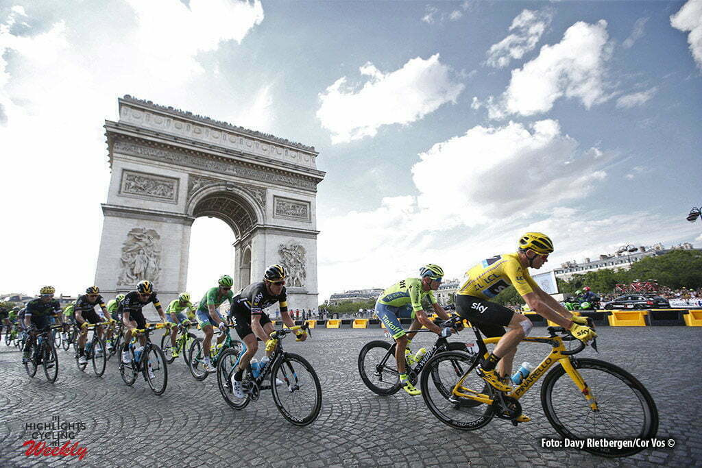 Paris - France - wielrennen - cycling - radsport - cyclisme - illustration - sfeer - illustratie Arc D'Triomph Christopher - Chris Froome (Norway / Team Sky) pictured during stage 21 of the 2016 Tour de France from Chantilly to Paris, 113.00 km - photo Dion Kerckhoffs//Davy Rietbergen/Cor Vos © 2016