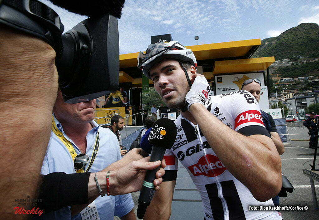 Revel - France - wielrennen - cycling - radsport - cyclisme - Tom Dumoulin (NED-Giant-Alpecin) pictured during stage 10 of the 2016 Tour de France from Escaldes-Engordany to Revel, 198.00 km- photo Dion Kerckhoffs/Tim van Wichelen/Cor Vos © 2016
