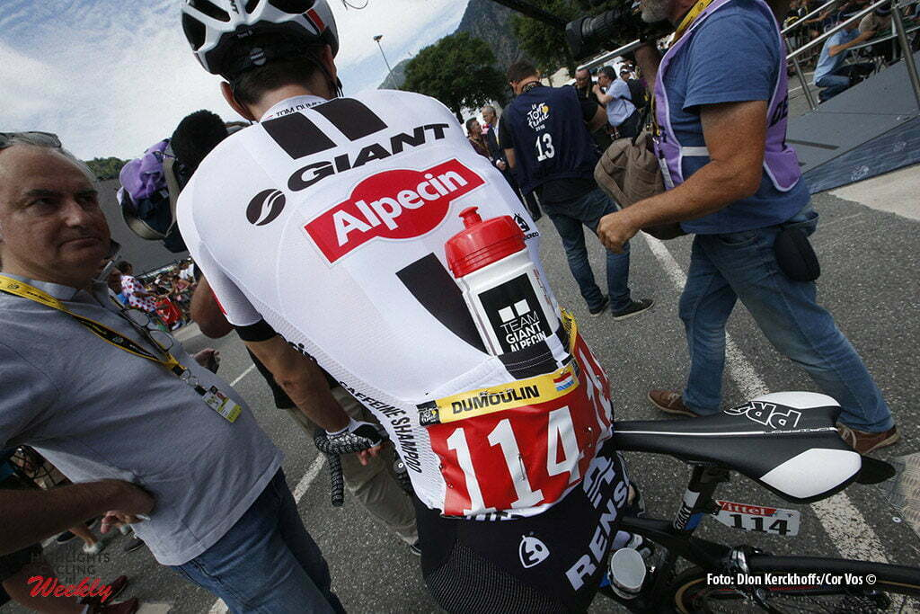 Revel - France - wielrennen - cycling - radsport - cyclisme - Red number Tom Dumoulin (NED-Giant-Alpecin) pictured during stage 10 of the 2016 Tour de France from Escaldes-Engordany to Revel, 198.00 km- photo Dion Kerckhoffs/Tim van Wichelen/Cor Vos © 2016
