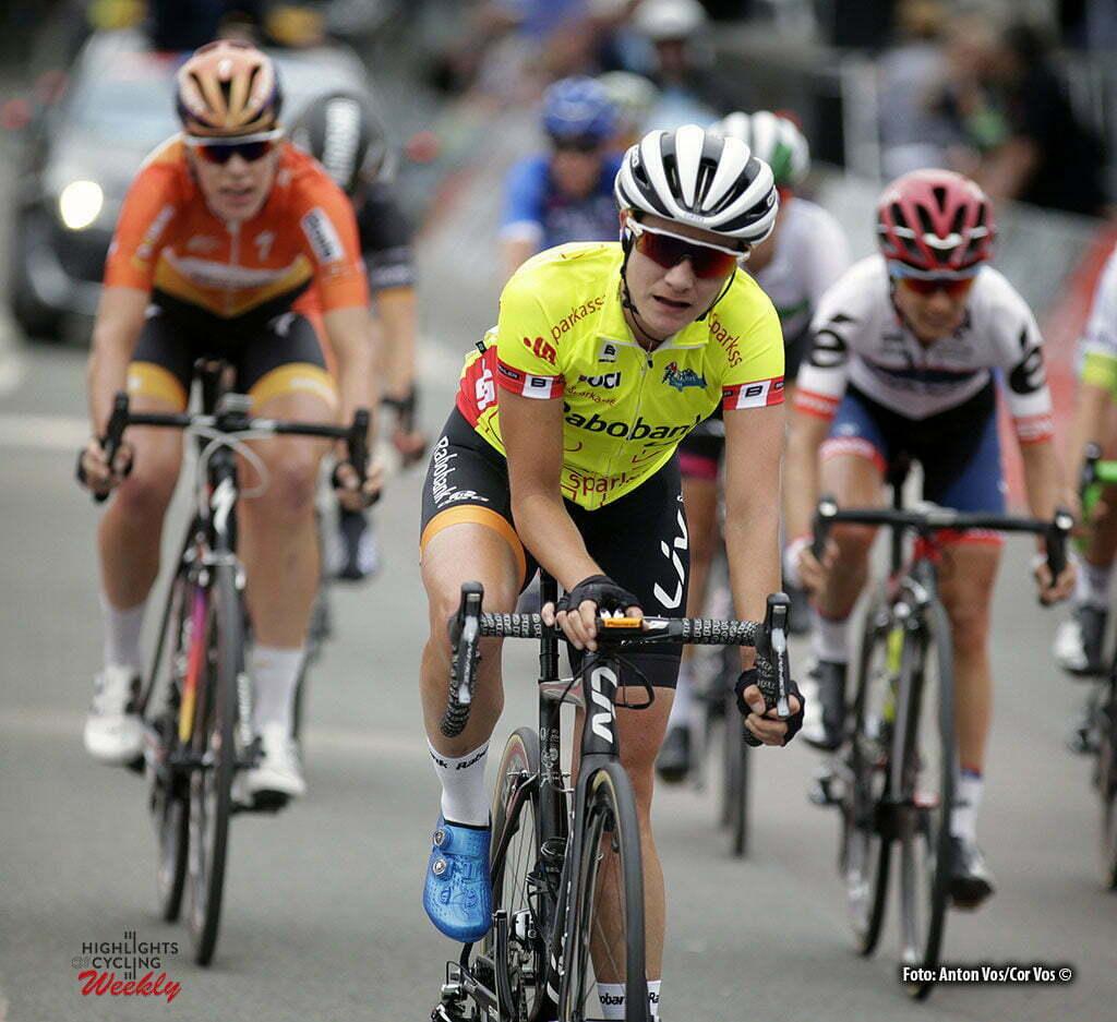 Erfurt - Germany - wielrennen - cycling - radsport - cyclisme - Vos Marianne (Netherlands / Rabobank Liv Women Cycling Team) pictured during stage 2 of the Thuringen - Rundfahrt for women Rund um Erfurt - photo Anton Vos/Cor Vos © 2016