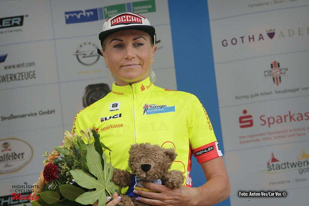 Altenburg - Germany - wielrennen - cycling - radsport - cyclisme - Zabelinskaya Olga (Be Pink) pictured during stage 3 of the Thuringen - Rundfahrt for women Rund um Altenburg - photo Anton Vos/Cor Vos © 2016