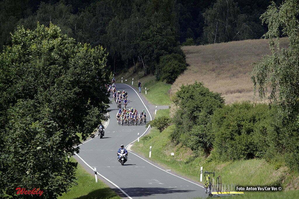 Greiz - Germany - wielrennen - cycling - radsport - cyclisme - illustration - sfeer - illustratie pictured during stage 5 of the Thuringen - Rundfahrt for women Rund um Greiz - photo Anton Vos/Cor Vos © 2016
