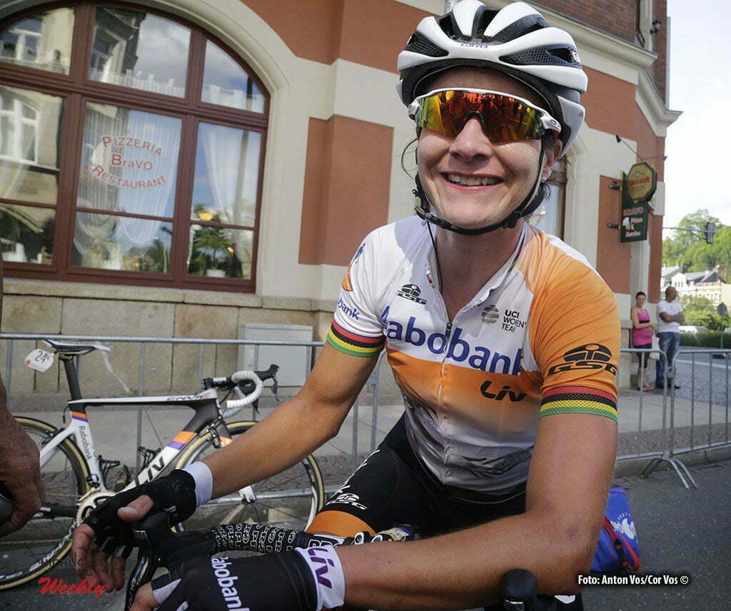 Greiz - Germany - wielrennen - cycling - radsport - cyclisme - Vos Marianne (Netherlands / Rabobank Liv Women Cycling Team) pictured during stage 5 of the Thuringen - Rundfahrt for women Rund um Greiz - photo Anton Vos/Cor Vos © 2016