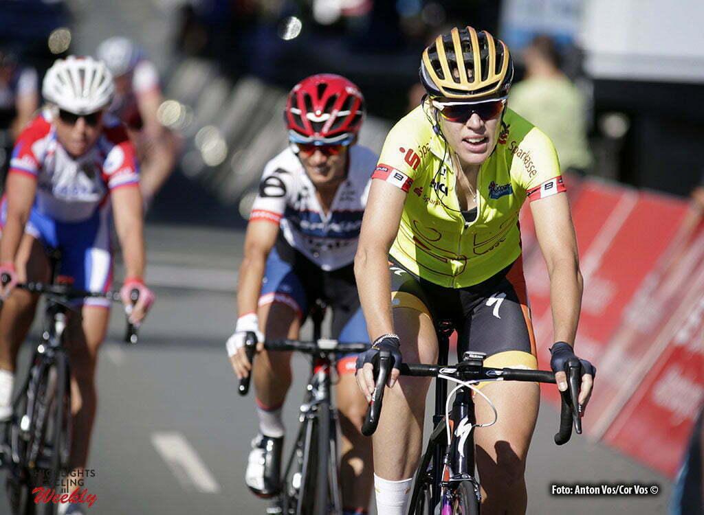 Schleiz - Germany - wielrennen - cycling - radsport - cyclisme - Van Dijk Ellen (Netherlands / Boels Dolmans Cycling Team) pictured during stage 6 of the Thuringen - Rundfahrt for women Rund um Schleiz - photo Anton Vos/Cor Vos © 2016
