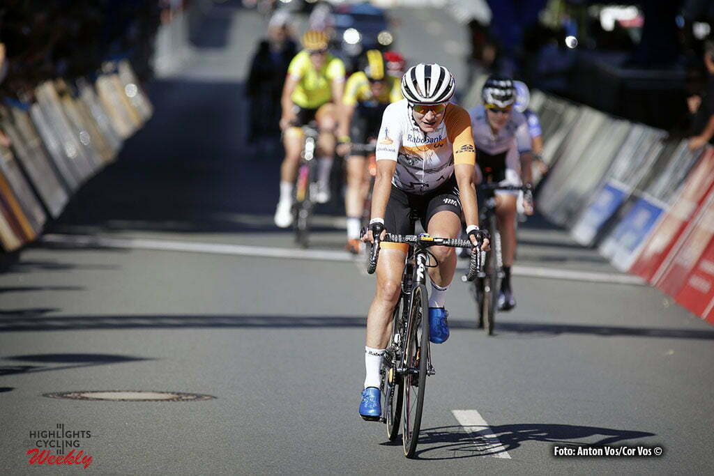 Schleiz - Germany - wielrennen - cycling - radsport - cyclisme - Vos Marianne (Netherlands / Rabobank Liv Women Cycling Team) pictured during stage 6 of the Thuringen - Rundfahrt for women Rund um Schleiz - photo Anton Vos/Cor Vos © 2016