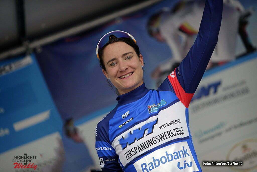 Gera - Germany - wielrennen - cycling - radsport - cyclisme - Vos Marianne (Netherlands / Rabobank Liv Women Cycling Team) pictured during stage 7 of the Thuringen - Rundfahrt for women Rund um Gera - photo Anton Vos/Cor Vos © 2016