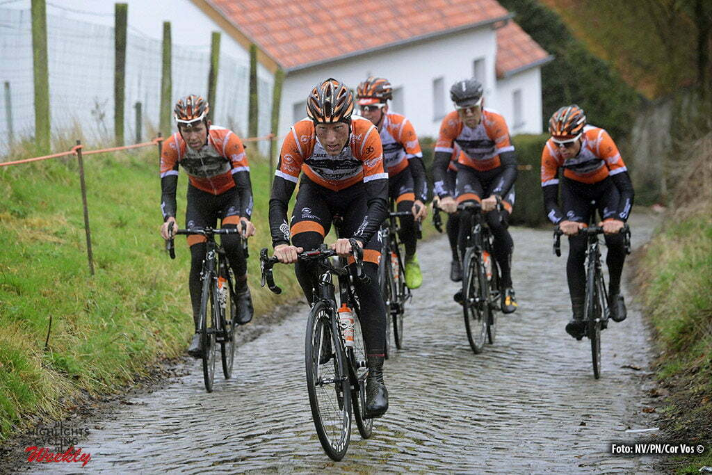 Gent – Belgium – wielrennen – cycling – radsport – cyclisme – VRIES Berden  (NED) Rider of Team Roompot.nl during a training session prior to the  Flanders ... 0b172e613