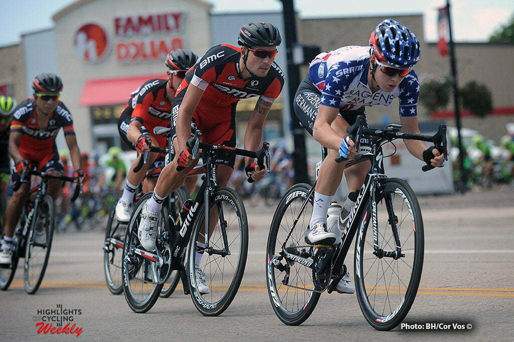 Payson - USA - wielrennen - cycling - radsport - cyclisme - Gregory Daniel (Team Axeon) - Zabel Rick (Germany / BMC Racing Team) pictured during The Larry H.Miller Tour of Utah 2016 stage 3 from Richfield to Payson - photo Brian Hodes/Cor Vos © 2016***USA OUT***
