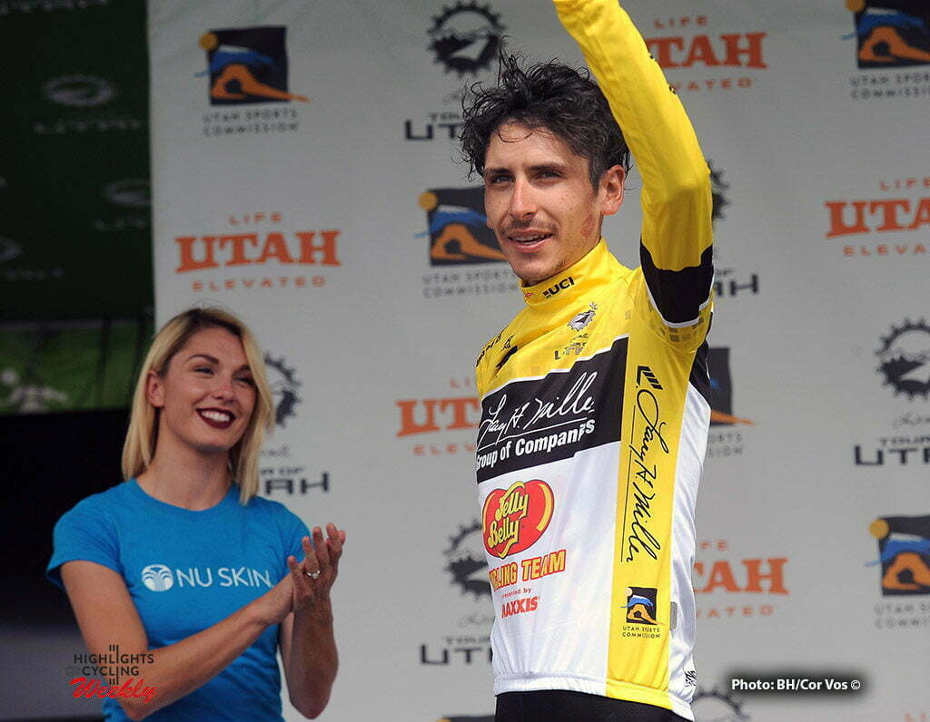 Bountiful - USA - wielrennen - cycling - radsport - cyclisme - Lachlan Morton (Jelly Belly Sport Beans) pictured during The Larry H.Miller Tour of Utah 2016 stage 5 from Im Antelope Island St. P. to Bountiful - photo Brian Hodes/Cor Vos © 2016***USA OUT***