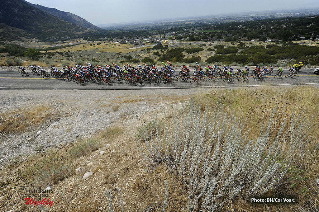 Bountiful - USA - wielrennen - cycling - radsport - cyclisme - illustration - sfeer - illustratie pictured during The Larry H.Miller Tour of Utah 2016 stage 5 from Im Antelope Island St. P. to Bountiful - photo Brian Hodes/Cor Vos © 2016***USA OUT***